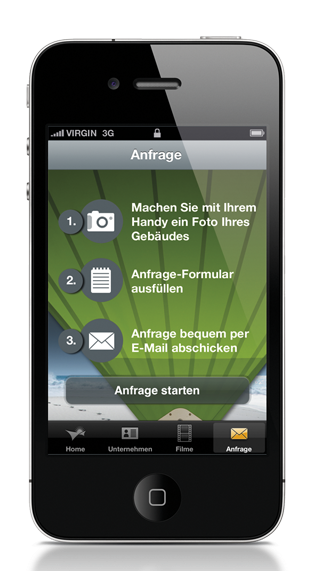 Soliday-APP auf dem iPhone