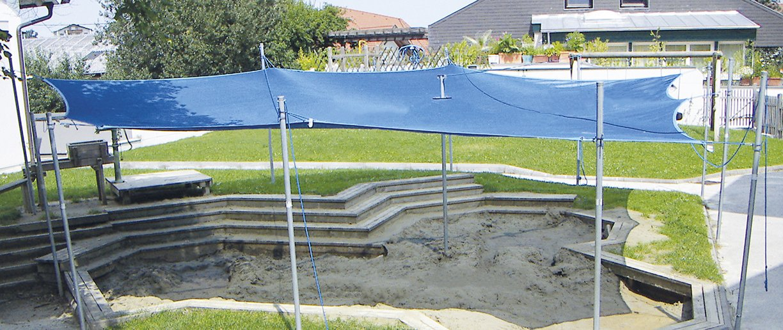 Soliday Sandy System Anwendungsart Schutz für Kinder