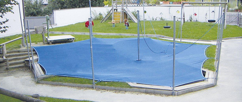 Soliday Sandy System Anwendungsart Schutz für den Sand